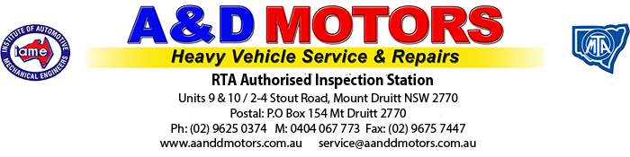 truck repairs sydney, truck repairs mt druitt, truck mobile mechanic sydney